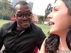 Marley Matthews Is Fond Of Black Dicks 1