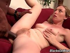 Busty White Chick Sucks Big Black Dick 3