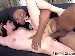 Kara Price loves to feel huge black cock moving inside her cunt.