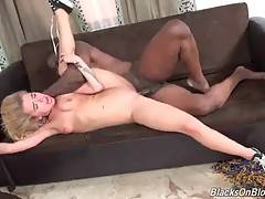 Alina West gets her butt hole deeply poked and creampied.